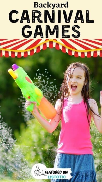 Water gun games.