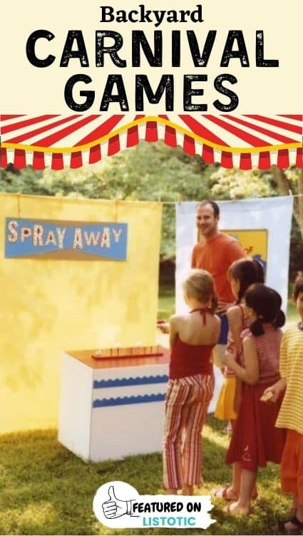 Spray-away activity.