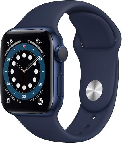 Apple watch series 6 navy blue sport band one of the Gift Ideas for Father's Day