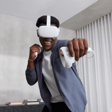Father's day gift ideas Oculus Quest 2 all in one virtual reality headset gaming device