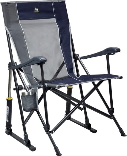 Outdoor blue rocking chair Father's day gift ideas