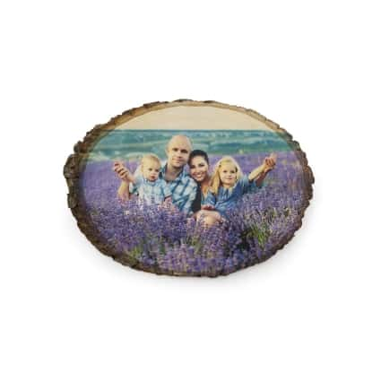 custom basswood photograph with family photo one of the Gift Ideas for Father's Day