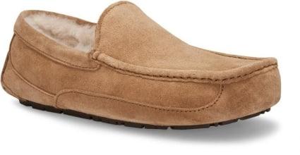Ugg mens ascot carmel colored slipper