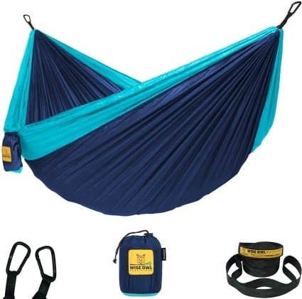wise owl blue hammock is one of the Gift Ideas for Father's Day