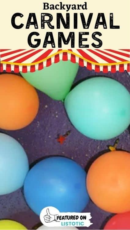 Balloon darts.