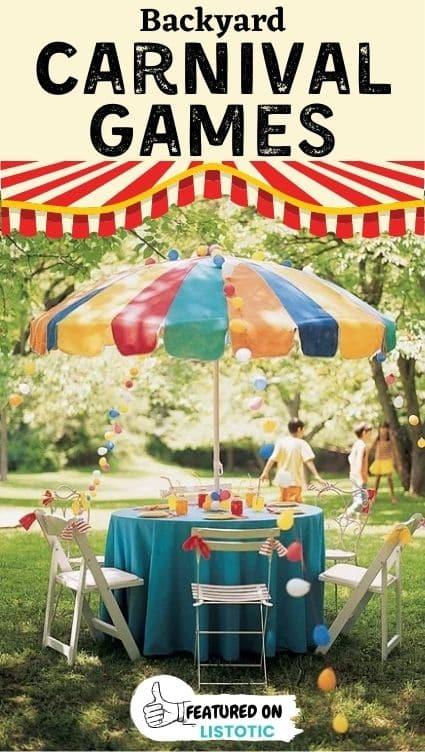 Carnival food tent.