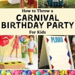 Circus birthday party.
