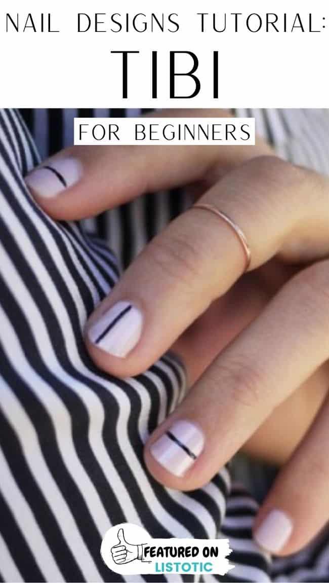 Tibi beginners nail art