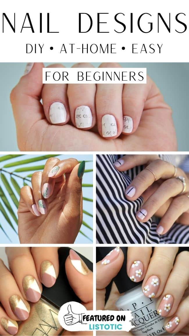 DIY manicures at home.