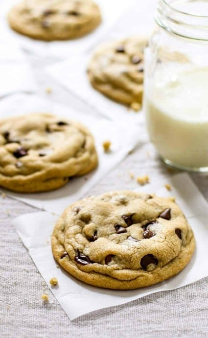 the best soft chocolate chip cookies for 4th of july cookies
