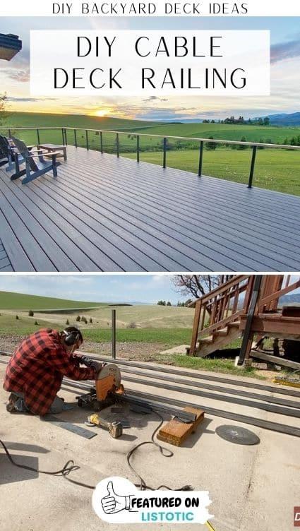 diy cable railing