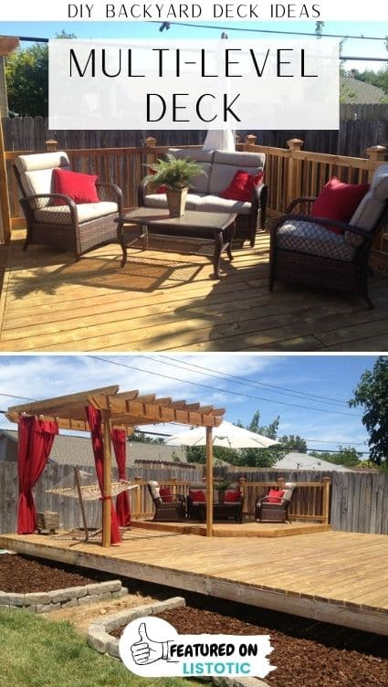 dIY deck ideas and ideas for deck privacy