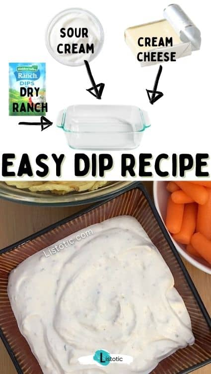 Easiest cold cream cheese dips recipe.