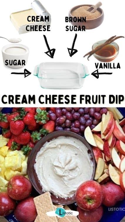 Fruit snack recipe.