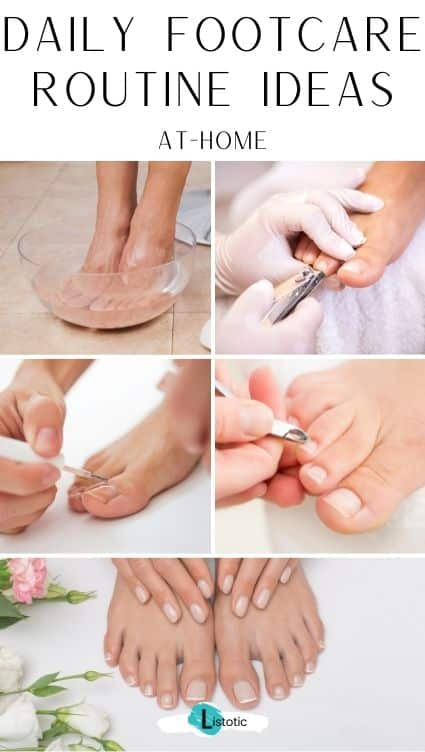 Footcare home remedies. Daily foot care routine. Footcare at home.
