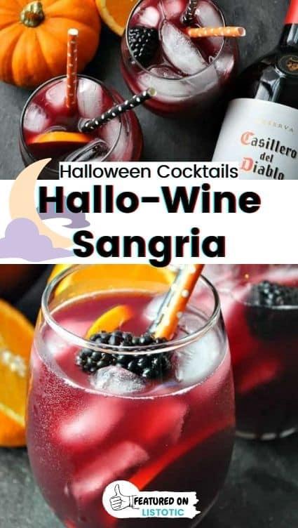 Hallo-wine sangria.
