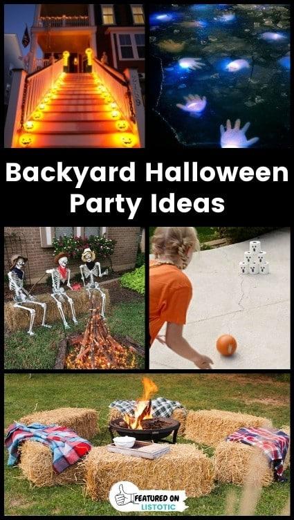 Backyard Halloween Party Ideas.