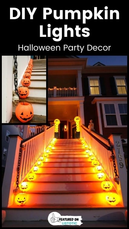 Outside Halloween party ideas.