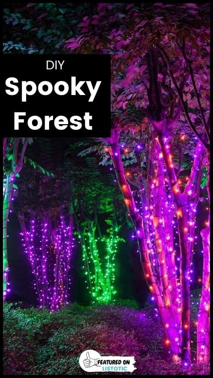 How to create a spooky forest.