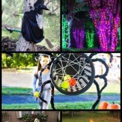 Outdoor Halloween party ideas.