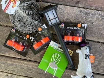 dollar story Halloween craft materials