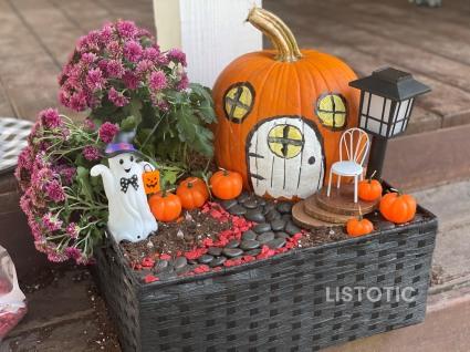 DIY Halloween Fairy Garden