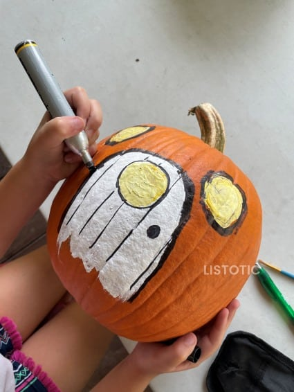Painted Pumpkin house
